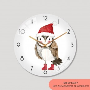 Đồng hồ treo tường tranh, đồng hồ trang trí nội thất mã K0317