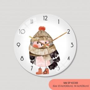 Tranh đồng hồ treo tường, đồng hồ trang trí mã K0318