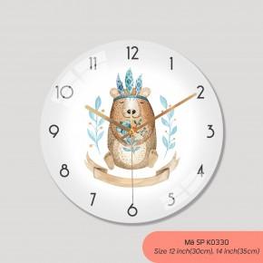Đồng hồ treo tường tranh, các kiểu đồng hồ treo tường đẹp mã K0330