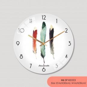 Đồng hồ treo tường độc đáo, đồng hồ tranh treo tường mã K0333