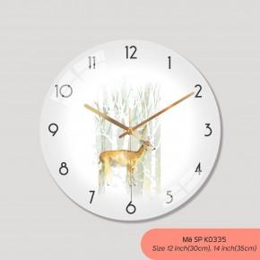 Đồng hồ treo tường trang trí, đồng hồ trang trí phòng khách mã K0335