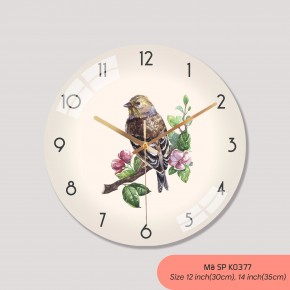 Mẫu đồng hồ treo tường, đồng hồ treo tường trang trí phòng khách mã K0377
