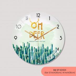 Hình đồng hồ treo tường, đồng hồ treo tường trang trí phòng khách mã K0404
