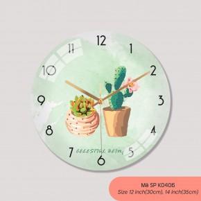 Đồng hồ treo tường tranh, đồng hồ trang trí nội thất mã K0406