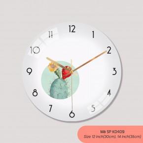 Đồng hồ treo tường tranh, đồng hồ treo tường phong cách hiện đại mã K0409