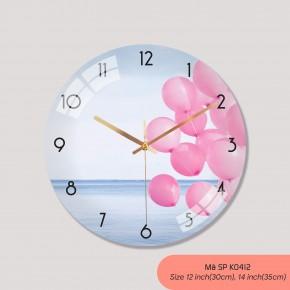 Đồng hồ treo tường sang trọng, đồng hồ tranh treo tường mã K0412