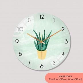 Đồng hồ treo tường trang trí, tranh dong ho treo tuong mã K0413
