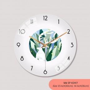 Đồng hồ treo tường phòng khách đẹp, do ho treo tuong mã K0417