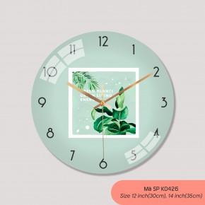 Đồng hồ kiểu treo tường, tranh đồng hồ treo tường đẹp mã K0426