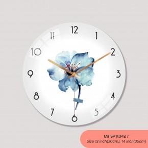Đồng hồ trang trí, tranh đồng hồ treo tường mã K0427