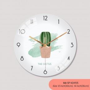 Hình ảnh đồng hồ treo tường, đồng hồ treo tường sang trọng mã K0455