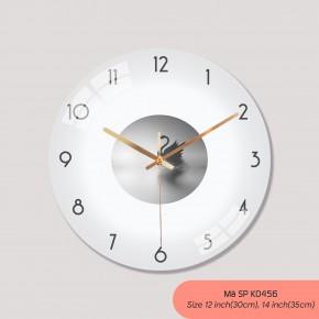 Tranh dong ho treo tuong, đồng hồ treo tường phòng khách mã K0456