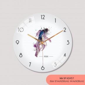 Đồng hồ treo tường sáng tạo, tranh treo tường có đồng hồ mã K0457