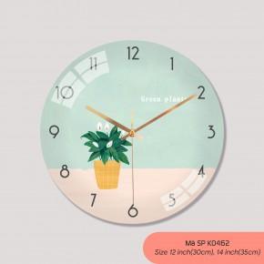 Đồng hồ treo phòng khách đẹp, đồng hồ trang trí mã K0462