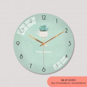 Các loại đồng hồ treo tường đẹp, đồng hồ tranh treo tường mã K0463