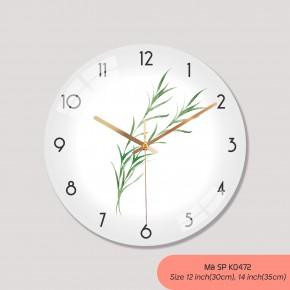 Đồng hồ treo tường giá rẻ, đồng hồ treo tường tranh mã K0472