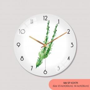 Hình đồng hồ treo tường, tranh treo tường có đồng hồ mã K0474