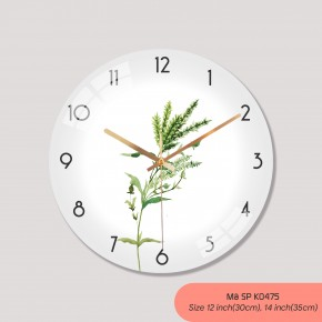 Đồng hồ treo phòng ngủ, tranh đồng hồ treo tường mã K0475