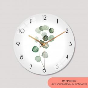 Đồng hồ treo tường cao cấp, đồng hồ treo tường sang trọng mã K0477