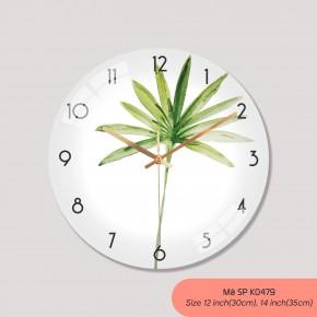 Đồng hồ trang trí nội thất, các kiểu đồng hồ treo tường đẹp mã K0479