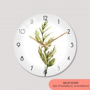 Đồng hồ treo tường phòng khách đẹp, đồng hồ treo tường cao cấp mã K0480