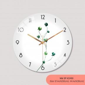 Đồng hồ treo phòng khách đẹp, đồng hồ kiểu treo tường mã K0481