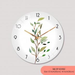 Hình ảnh đồng hồ treo tường, đồng hồ trang trí nội thất mã K0482