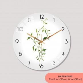 Đồng hồ treo tường tranh, đồng hồ treo tường trang trí phòng khách mã K0483