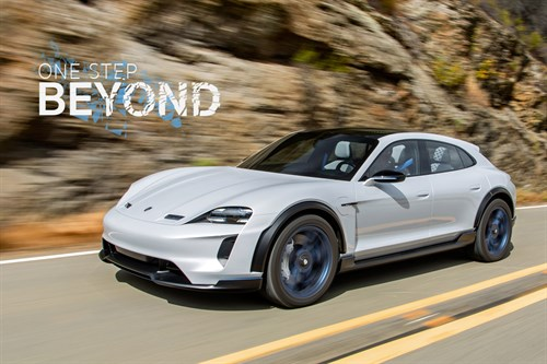 Porsche Mission E Cross Turismo - One Step Beyond