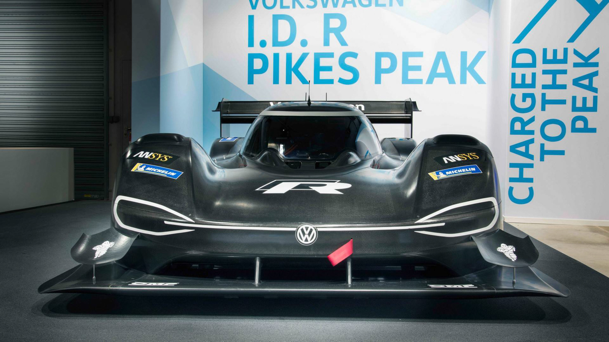 The I.D R Pikes Peak to bear start number 94