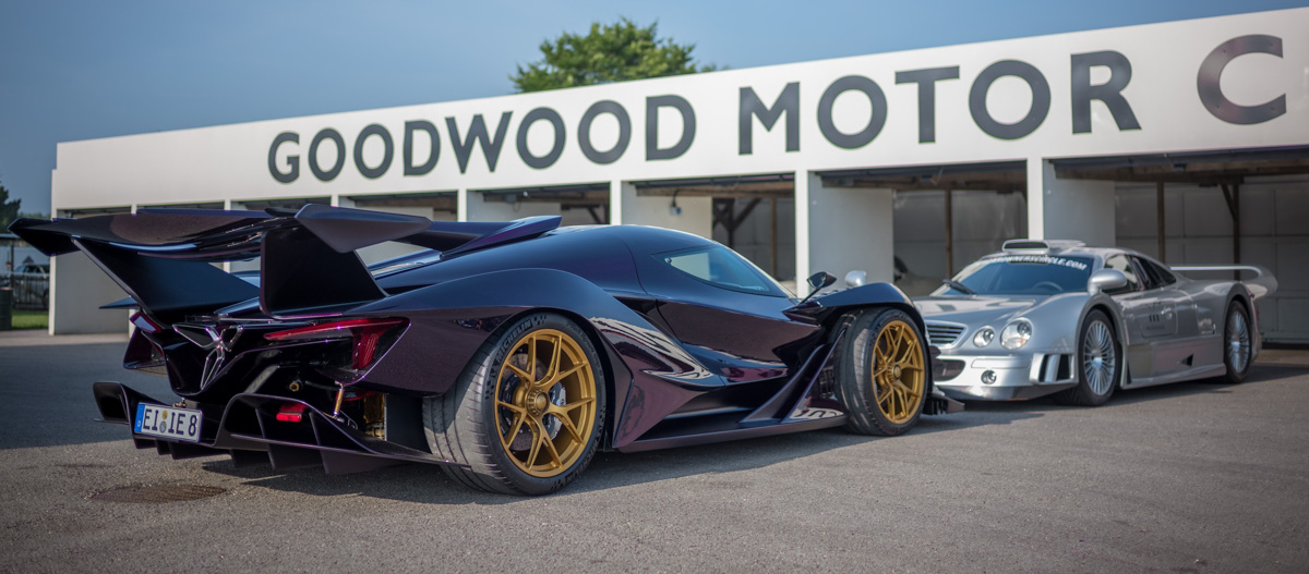 Apollo Automobil partners with HWA AG  for the development of the Apollo IE