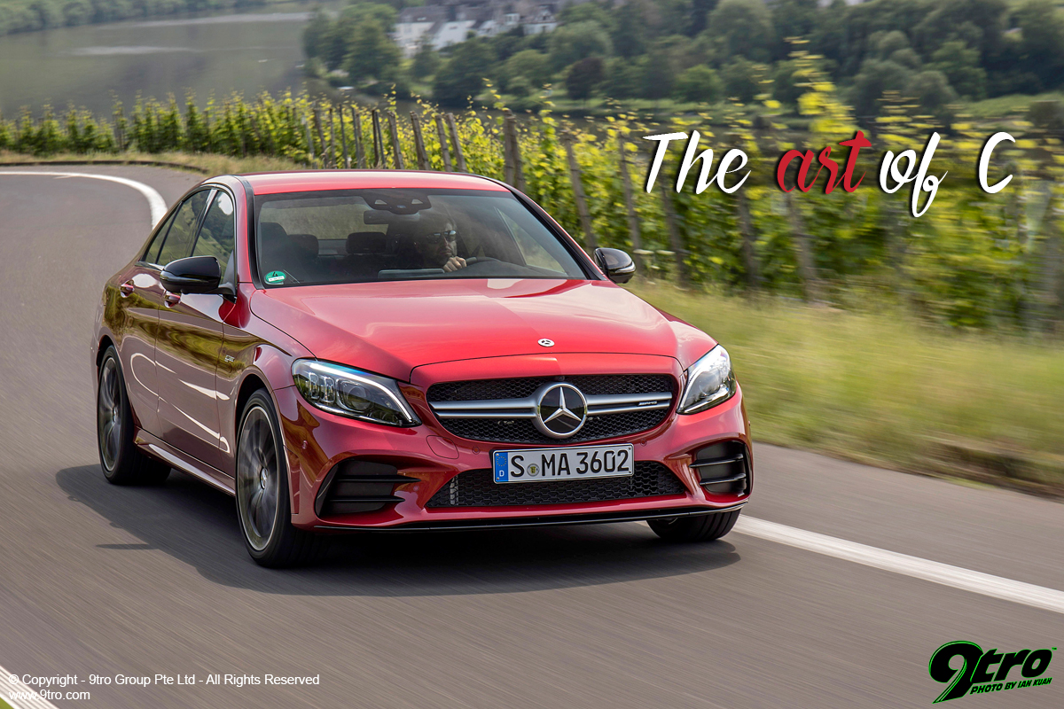 Mercedes-Benz C-Class (W205) Facelift - The art of C - 9tro
