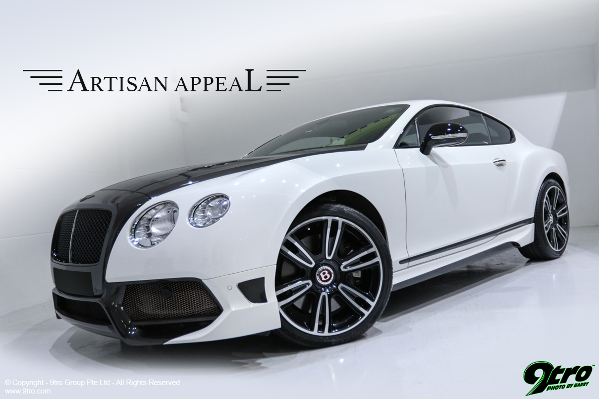 Mansory Bentley Continental Gt Artisan Appeal 9tro