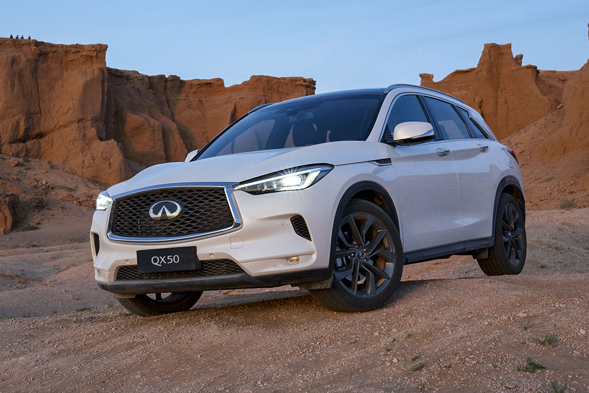 Infiniti and Explorers Club revisit Gobi Desert