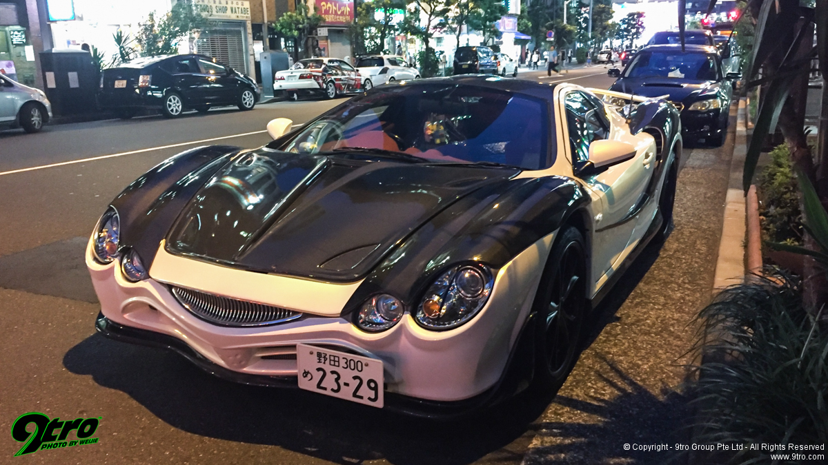 Tokyo Car Spotting - Add some random spice to your Japan holiday