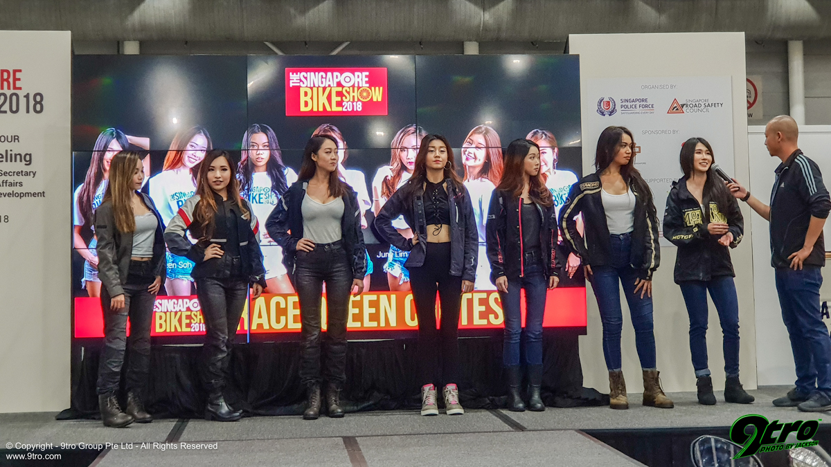 2018 Singapore Bike Show - Part 2 (Models)