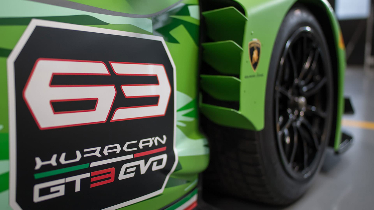 The New Huracán GT3 EVO Is Ready to Conquer the Track