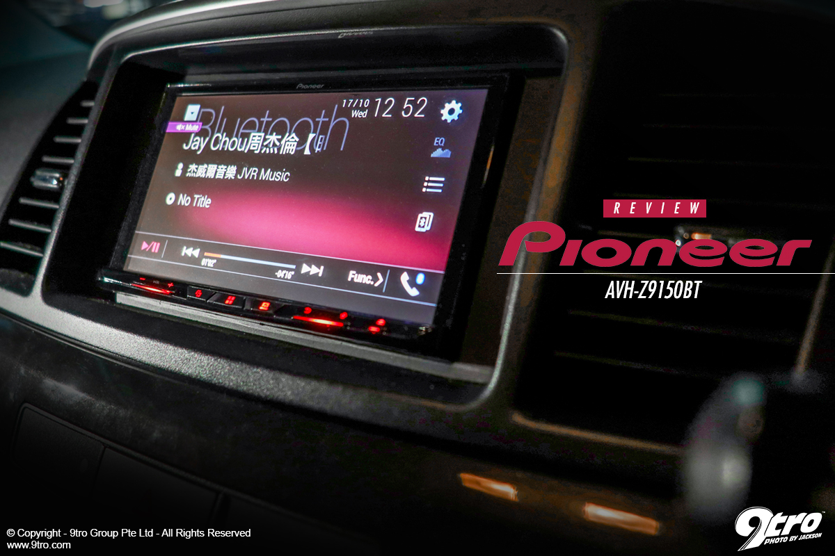 Review: Pioneer AVH-Z9150BT - 9tro