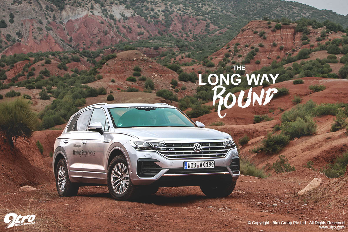 Volkswagen Touareg Off Road The Long Way Round 9tro