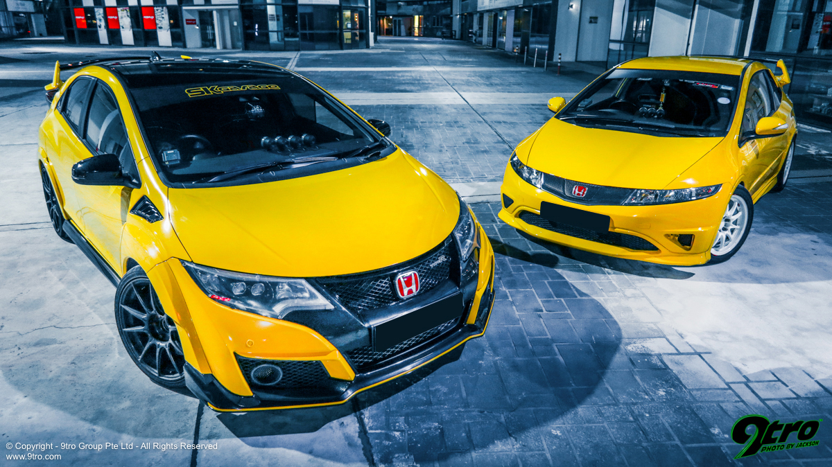 Honda Civic Type-R - Fellow Yellow