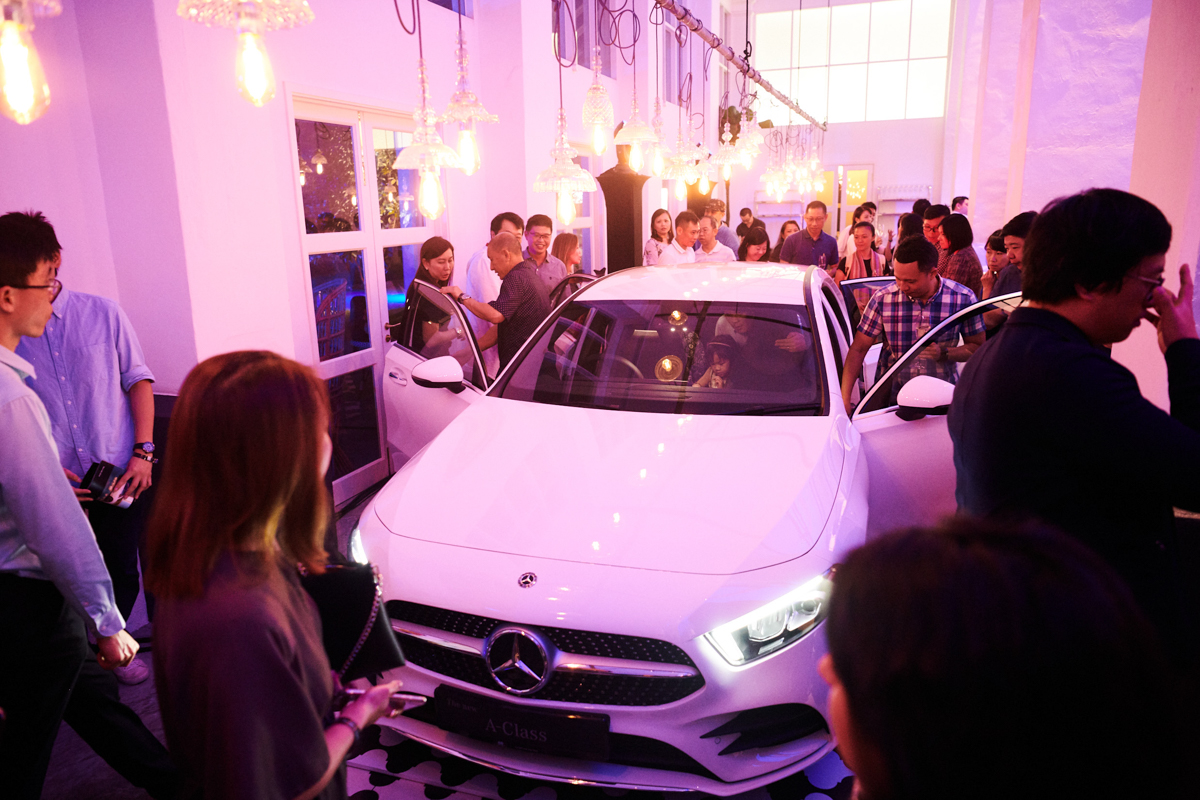 Mercedes-Benz A-Class - Singapore Launch