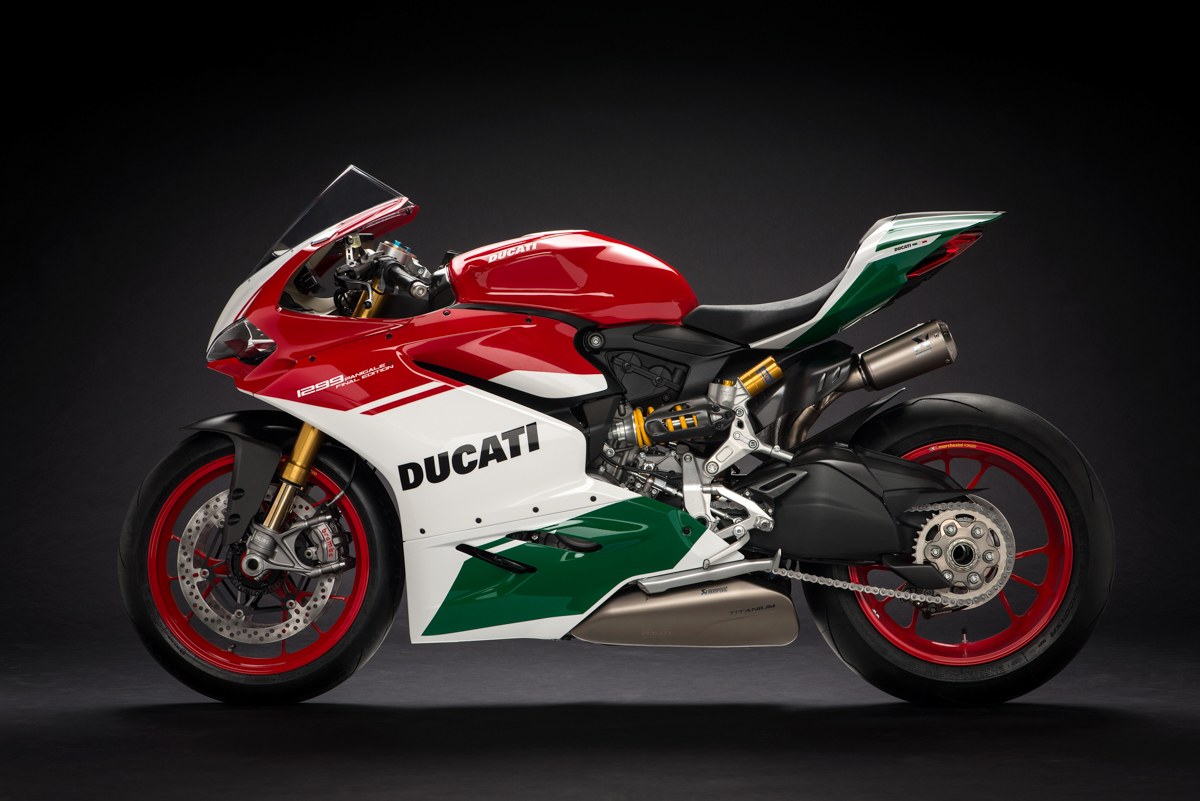 Last 1299 Panigale R Final Editions being delivered to Ducati Stores