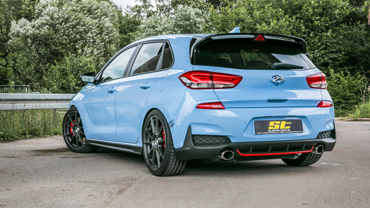 ST XTA coilovers for Hyundai i30 N