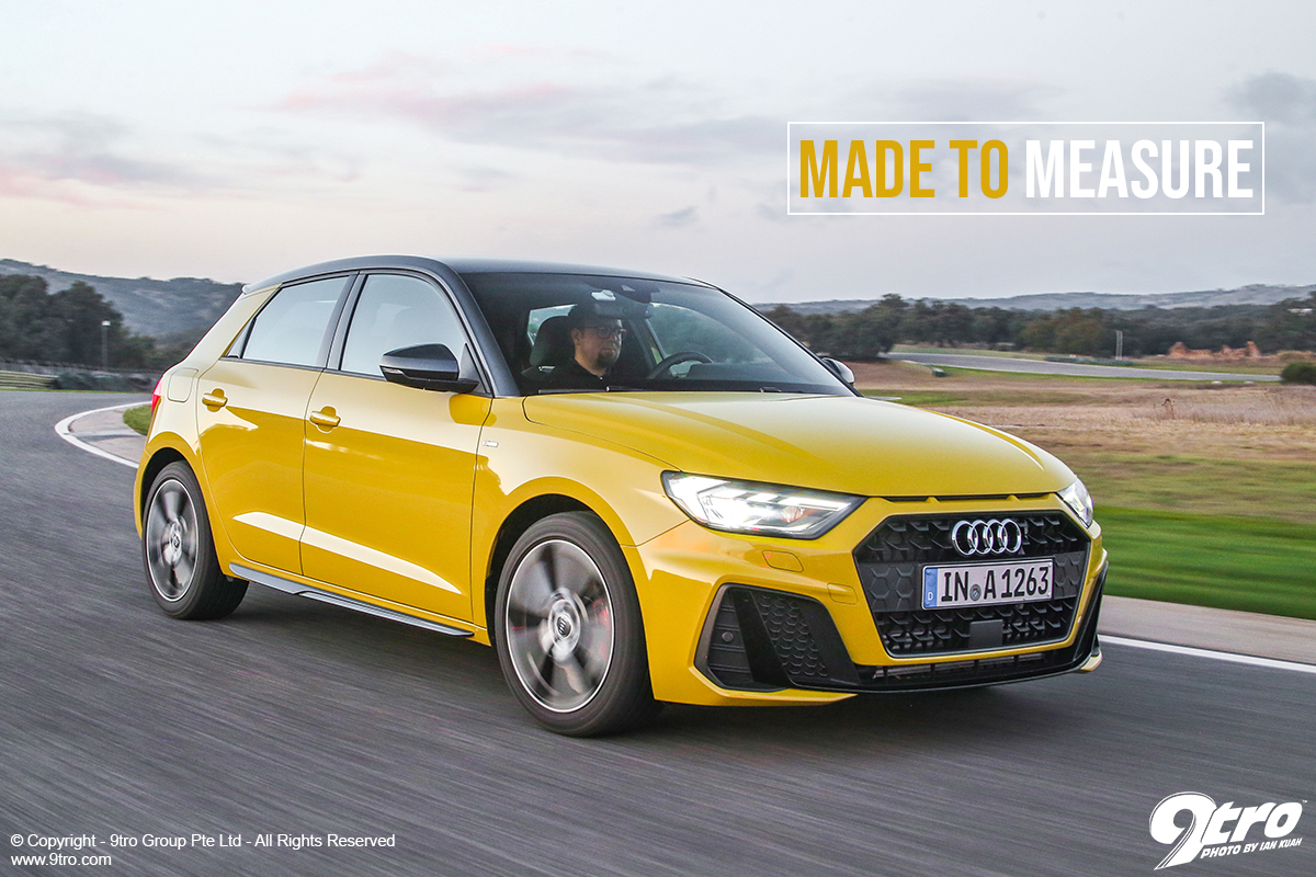 Audi A1 Made To Measure 9tro