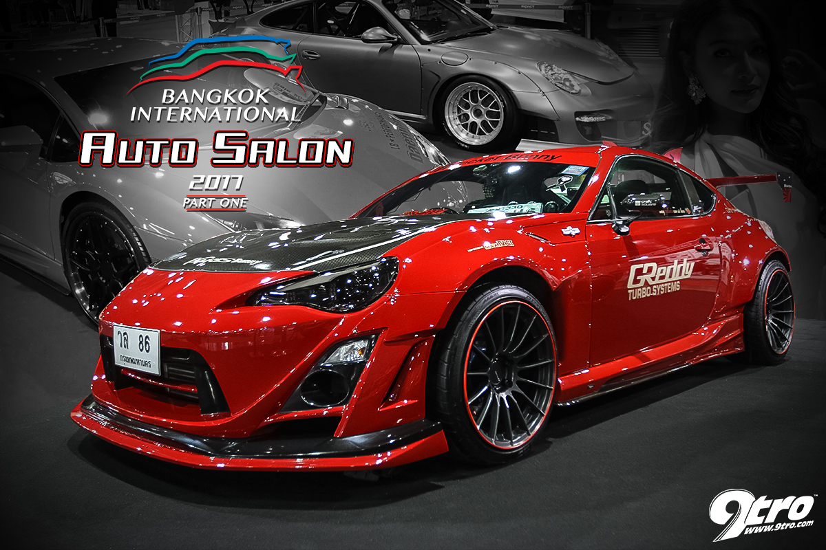 2017 Bangkok International Auto Salon - Part 1