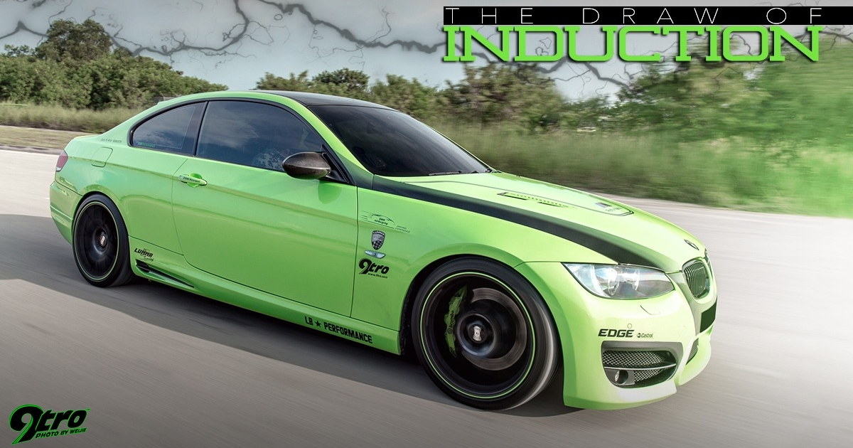 Bmw E92 335i The Draw Of Induction 9tro