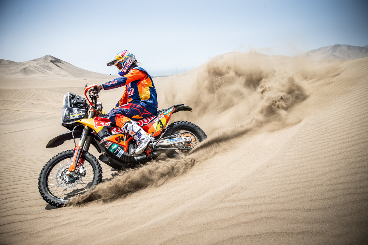 KTM FACTORY RACING ARRIVE IN PERU FOR 2019 DAKAR RALLY