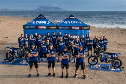 Yamaha at the 2019 Dakar Rally