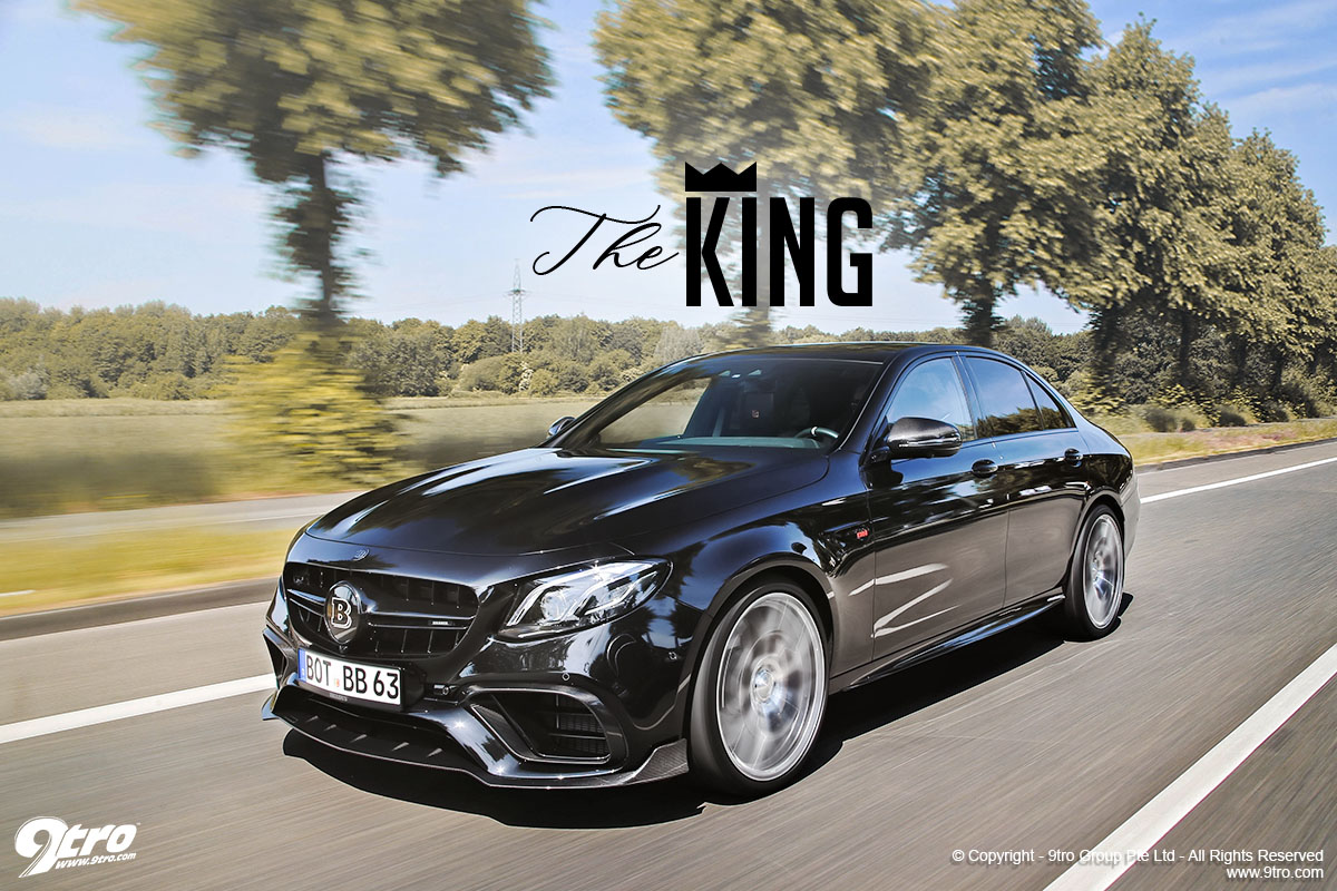 Brabus E63 800 - The King