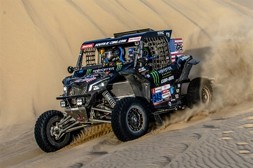 Monster Energy at 2019 Dakar Rally
